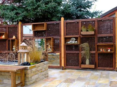 Sichtschutzwände - Living Wall Modern Style